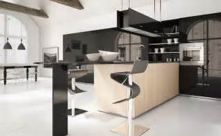 Deluxe Design Dark Wood Kitchen Interior Modern Style Modern Decorating Styles