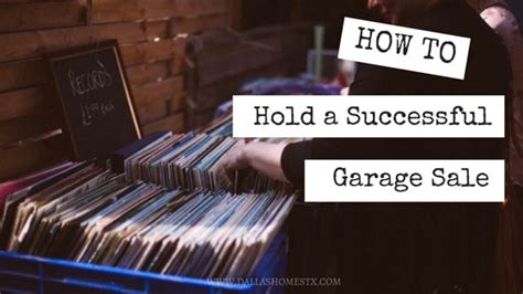 How To Hold A Garage Sale by How To Hold A Successful Garage Sale Nuber And Nuber