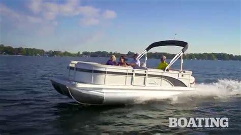 bennington pontoon boat test 2016 bennington 21 slx premium 21 pontoon boat test youtube