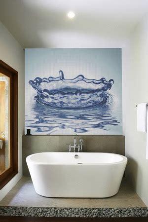 pictures suitable for bathroom walls ba 241 os modernos con murales en 3d decoactual com