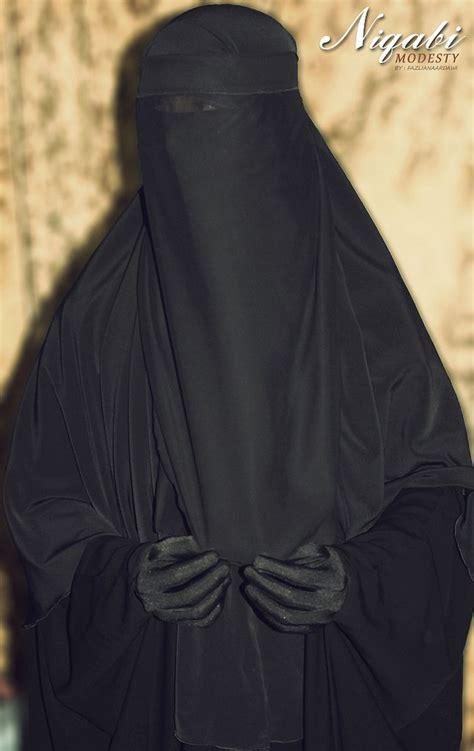 Jilbab Hoodie Zora 13 niqabi modesty by fazliana ardawi niqab