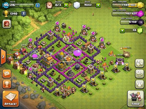 clash of clans strategy level 7 farming base design town hall best defense town hall level 7 memes
