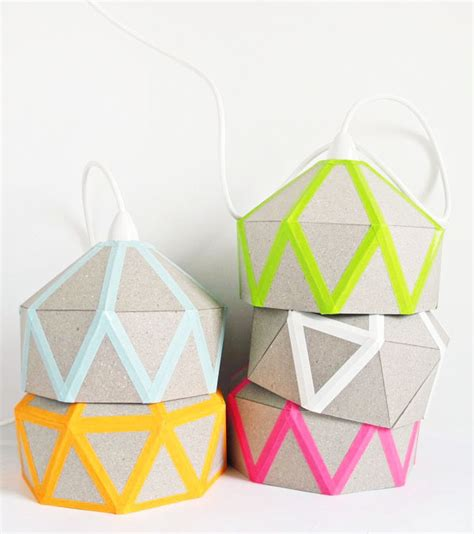 diy quilt light by tamara maynes the design files