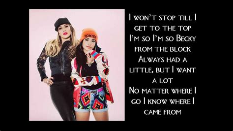 becky g becky from the block lyrics becky g becky from the block lyrics