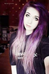 pretty colored hair 17 best images about emos on hair
