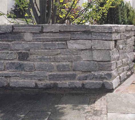 garten mauer mauersteine naturstein gartenmauer granitstein granit