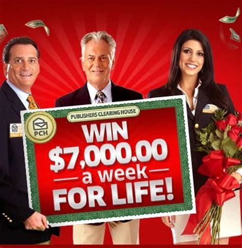 Pch 10000 A Week - enter the pch win 7000 a week for life sweepstakes and be