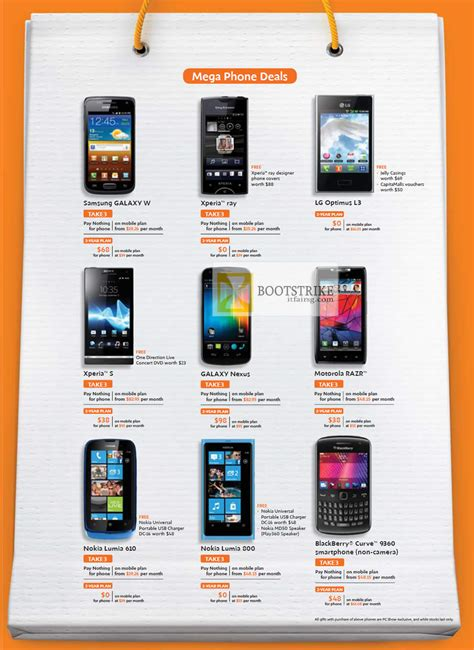 L Price by M1 Mobile Samsung Galaxy W Sony Xperia S Lg Optimus