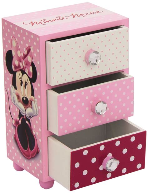 minnie mouse bedroom accessories uk minnie mouse bedroom 3 drawer storage kids wooden box pink