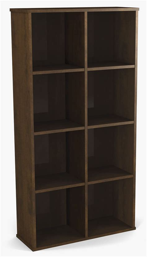 dayton chocolate cubby bookcase from bestar 88700 1169