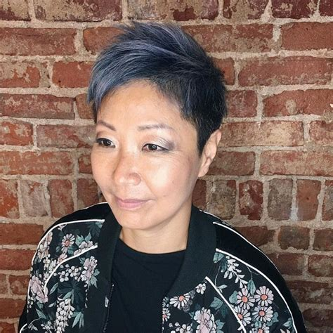 is ombre blue hair ok for older women is ombre blue hair ok for older women 60 awesome diy