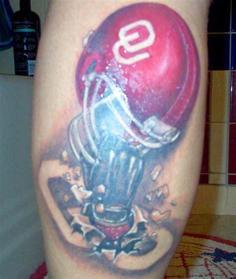 ou tattoo designs oklahoma sooners football college tattoos