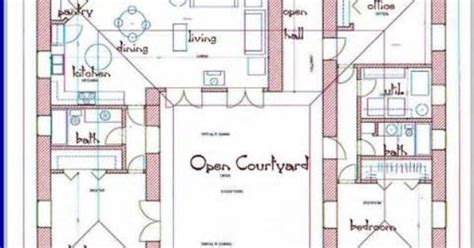 u shaped house plans with pool bing images plan de u shaped home plans bing images house designs