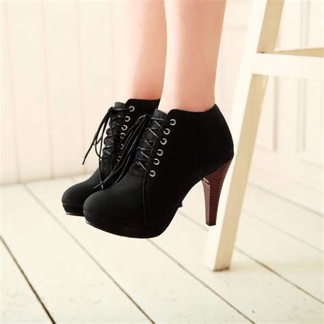 High Hells Hj shorts shoes high heels black heels style black boots