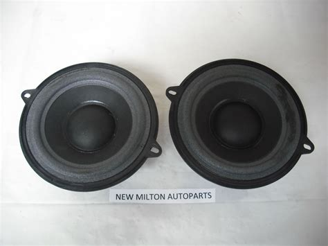 Front Door Speaker Front Door Speakers Renault Megane 2 Pair Of Original Renault Front Door Speakers Bmw E46