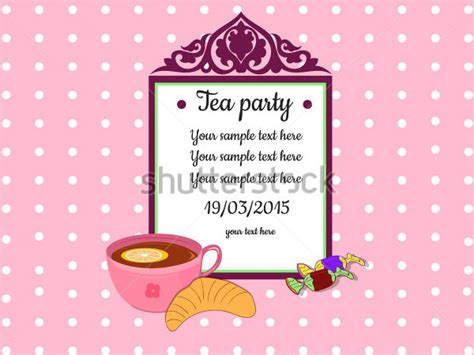 morning tea invitation template free free morning tea invitation template free free template