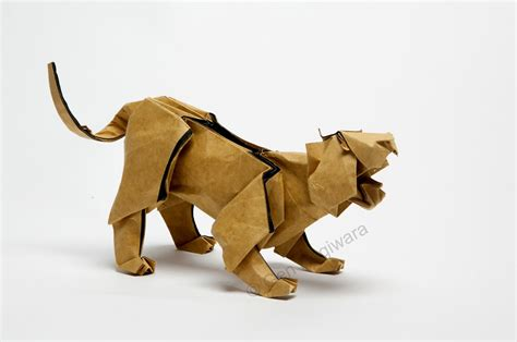 Origami Panther - 25 purr fect origami cats fur real i m not kitten