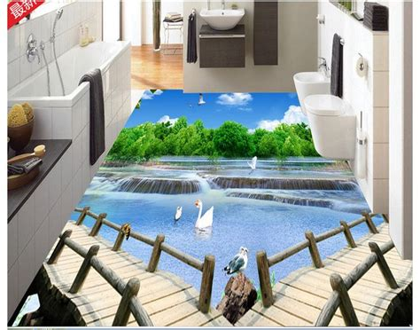 bathroom floor mural a complete guide to 3d epoxy flooring and 3d floor designs