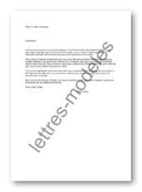 Demande De Garage Lettre Mod 232 Le Et Exemple De Lettres Type Location De Garage