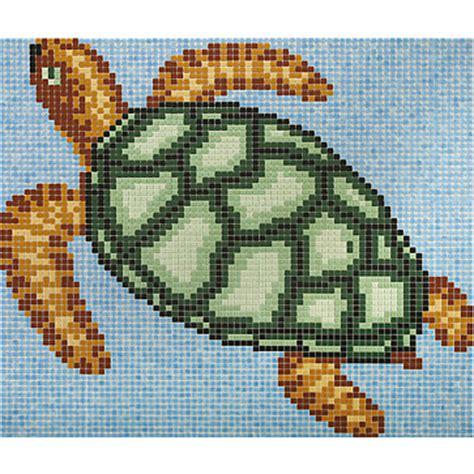 Disegni Per Mosaico by Disegno In Mosaico Tartaruga