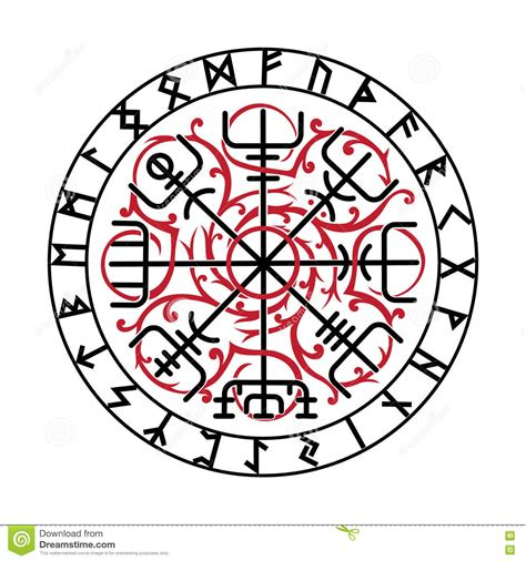 vegvisir the magic navigation compass of ancient