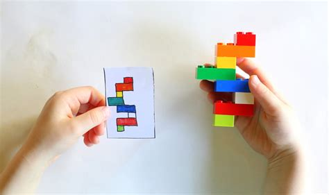 printable lego card diy portable lego kit with 24 free printable activity cards