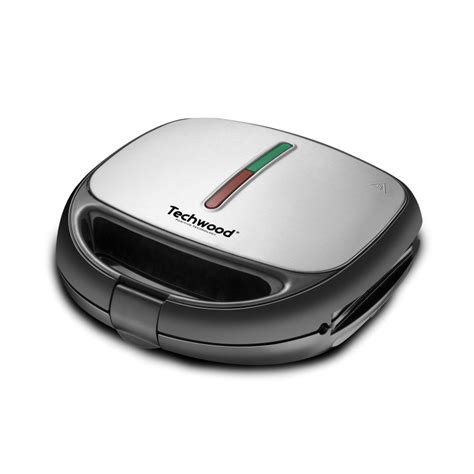 Grill Croque Monsieur by Gaufrier Croque Grill Inox Techwood