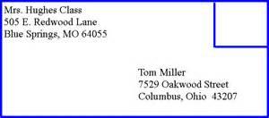 6 address on envelope format driver resume