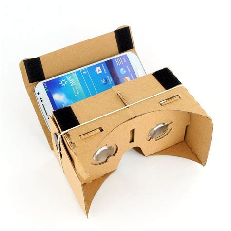 Vr Cardboard ultra clear cardboard valencia quality 3d vr reality glasses kit ebay