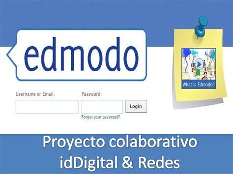 edmodo not loading proyecto edmodo iddigital y redes