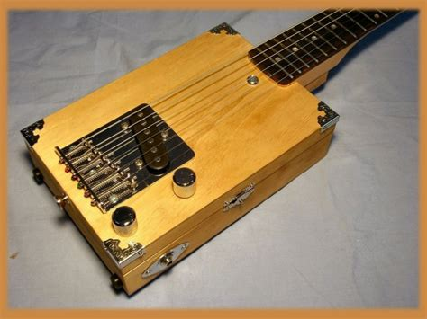 Handmade Cigar Box Guitars - carl s custom handmade pro quality 6 string cigar box