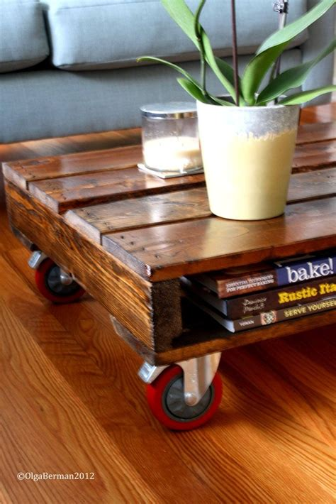 Diy Patio Coffee Table Diy Make Your Own Pallet Coffee Table Great For Outdoor Patio Or Putting Potted Plants So