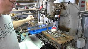 milling machine wood table covers tool holder youtube
