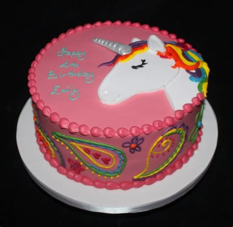 unicorn pattern for cake gardners cakery birthday cakes its all about cake