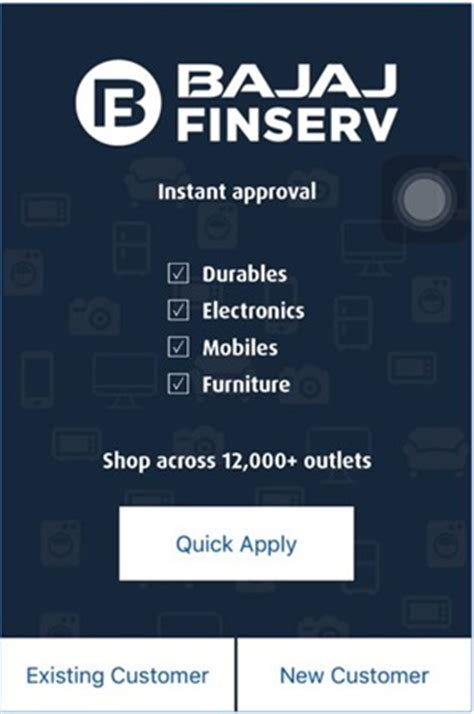 bajaj finance loan status consumer durable bajaj finserv launches india s consumer durable