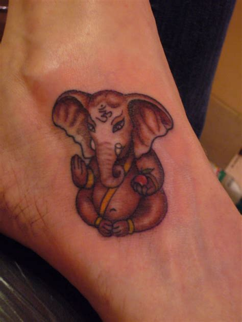 small ganesh tattoo ganesha