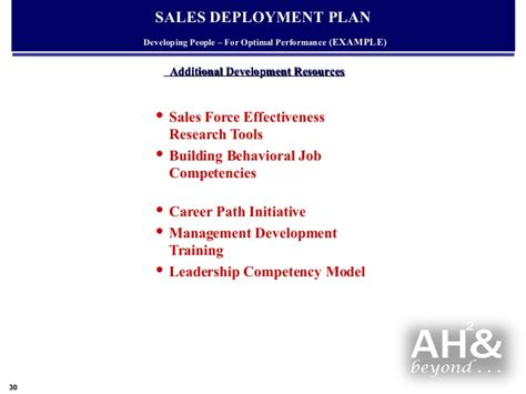 marketing initiatives template exle global sales marketing business plan