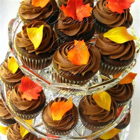 fall cupcake decorations 1000 images about fall wedding ideas on burnt