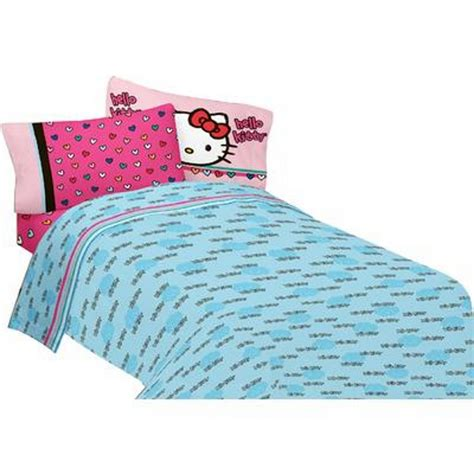 hello kitty twin bed sanrio hello kitty twin sheet set free time home bed