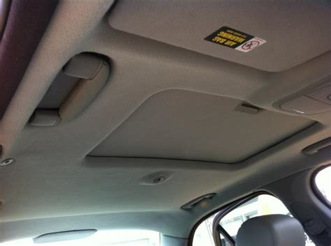 fix car upholstery ceiling headliner sagging houston auto headliner sagging repair