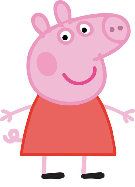 puppy pig characters peppa pig png hq