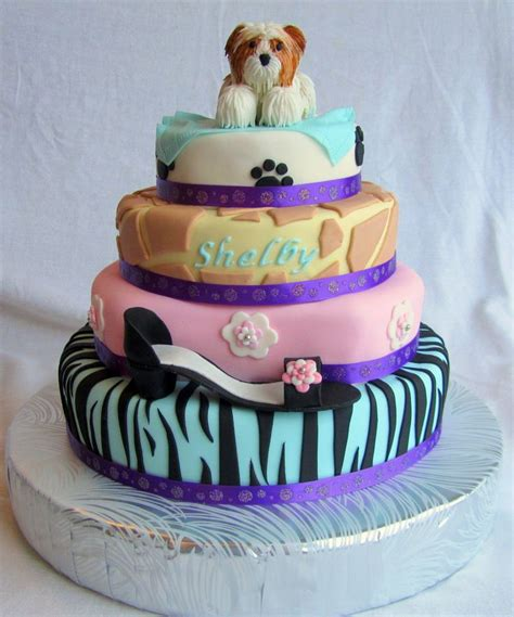 shih tzu shoes 17 best images about shih tzu cakes on birthdays unique cake toppers and