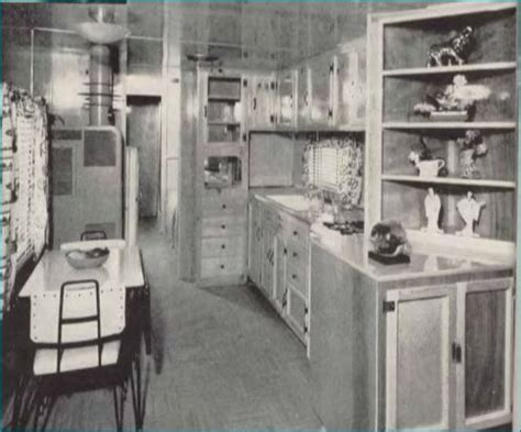 home kitchen star mobile home kitchens from 1955 to 1960