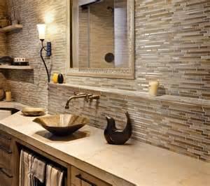 Modern Bathroom Tile Backsplash Bathroom Backsplash With Shelf Bath Remodeling Ideas