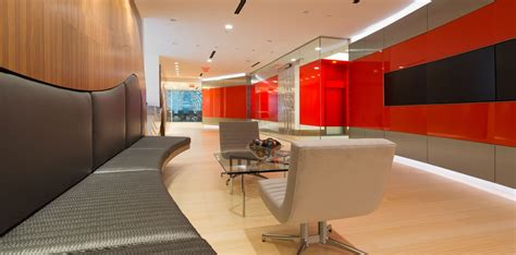 wakefield and associates fort co corporate office fit out project at cushman wakefield in