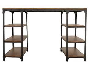 lorimer counter height writing desk office desks