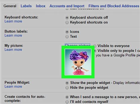 gmail reset to default settings how to change your gmail profile picture 10 steps with