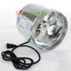 8 inch inline duct fan 8 quot 10 quot inch duct booster fan exhaust vent air cooled