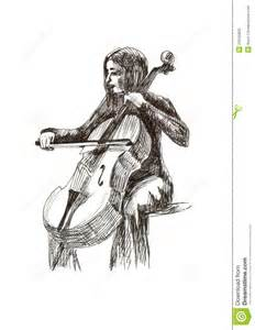 pics for gt cello player drawing