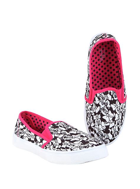 disney minnie mouse slip on shoes topic